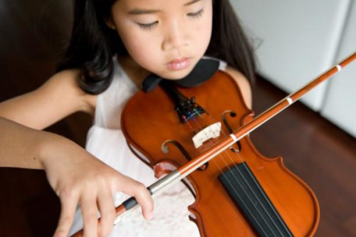 vioolspeelster