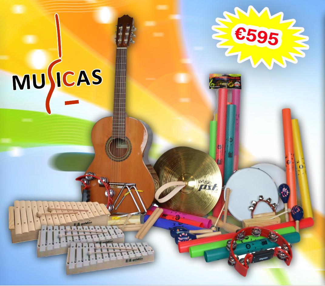 Basisschool instrumentenpakket 'Compleet'
