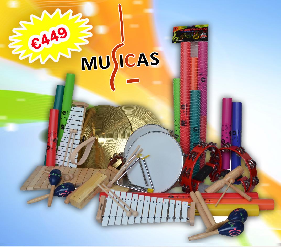 Basisschool instrumentenpakket 'Standaard'