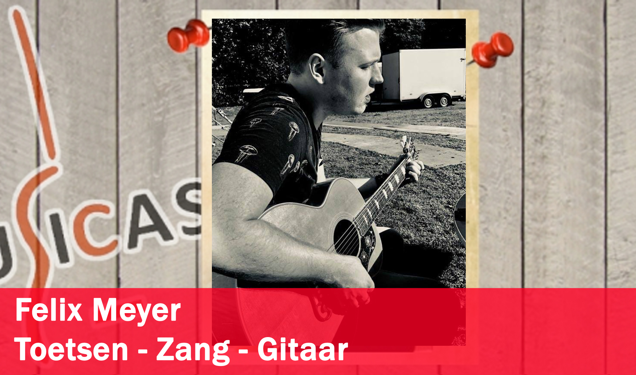 Felix Meyer <br>Toetsen - Zang - Gitaar