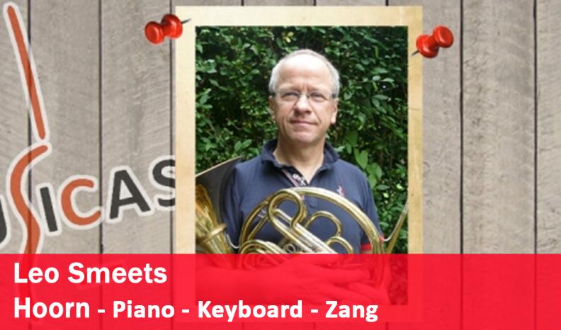Leo Smeets <br> Hoorn - Piano - Keyboard - Zang