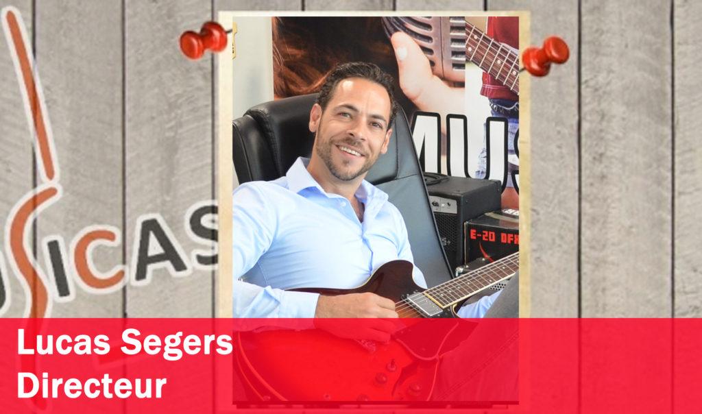 Lucas Segers <br>Algemeen directeur