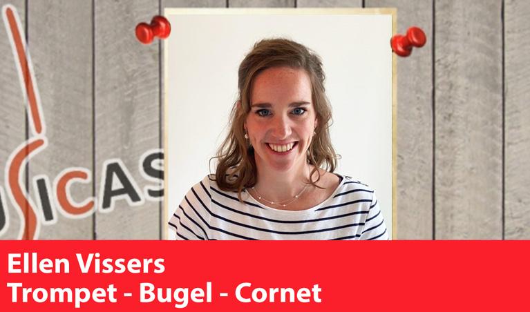 Ellen Vissers <br>Trompet - Bugel - Cornet