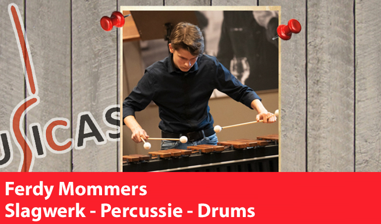 Ferdy Mommers <br>Slagwerk - Percussie - Drums